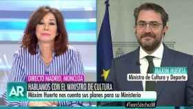 Ana Rosa entrevista a Màxim Huerta.