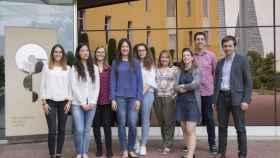 Grupo de Metástasis Cerebral del CNIO, liderado por Manuel Valiente (primero por la izquierda). / CNIO