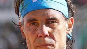 Rafa Nadal, con 62 años