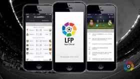 Imagen de la app de LaLiga.