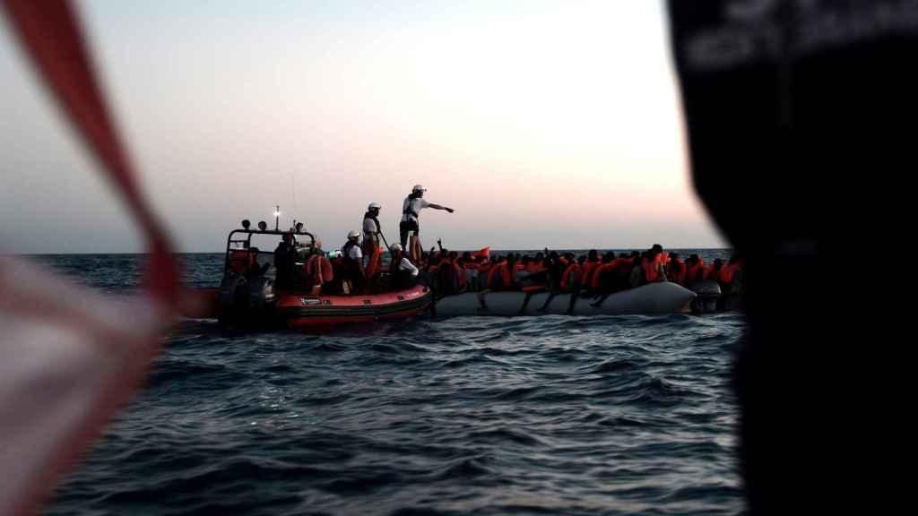 Migrantes a la deriva