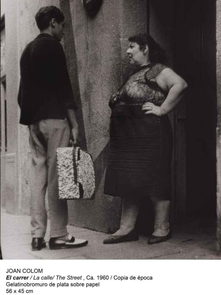 Joan Colom. El carrer. Museo Reina Sofía.