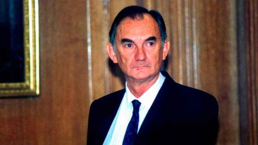 Tomás y Valiente, víctima de ETA EN 1996.