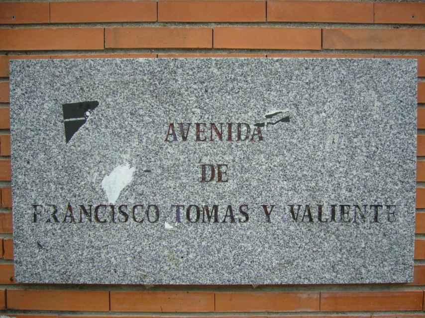 En la Universidad Autónoma hay una calle con el nombre del difunto jurista.