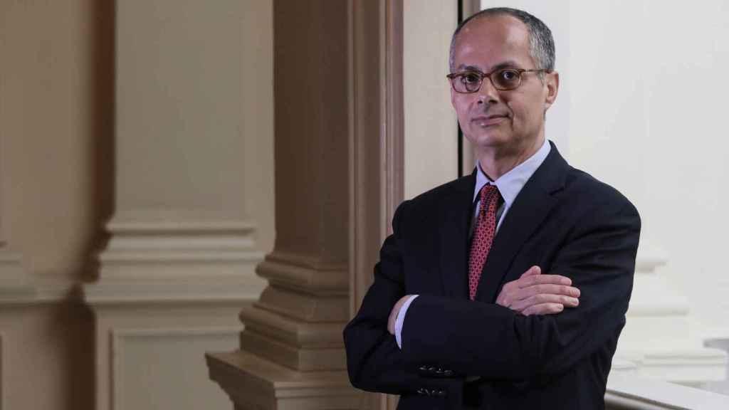 Omar Yaghi, catedrático de la universidad de Berkeley, en Madrid.