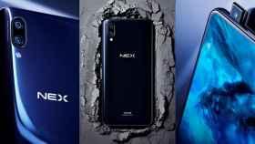 Vivo Nex contra sus alternativas: Xiaomi Mi 8, iPhone X y Galaxy S9