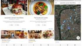 Google Maps te recomienda restaurantes ¡según tus gustos!