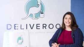 Diana Morato, directora general de Deliveroo en España.