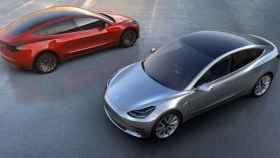 Imagen del Tesla Model 3.