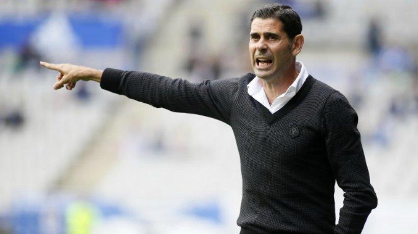 Fernando Hierro entrenó recientemente al Oviedo. Foto: realoviedo.es