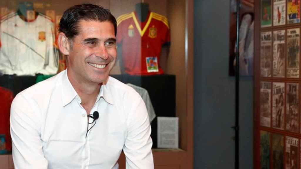 Fernando Hierro, nuevo seleccionador de España