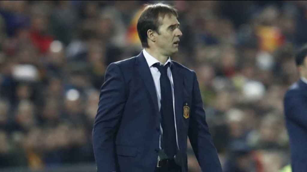 Julen Lopetegui, nuevo entrenador del Real Madrid. Foto: sefutbol.com