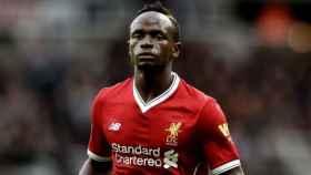 Mané, jugador del Liverpool. Foto: liverpoolfc.com