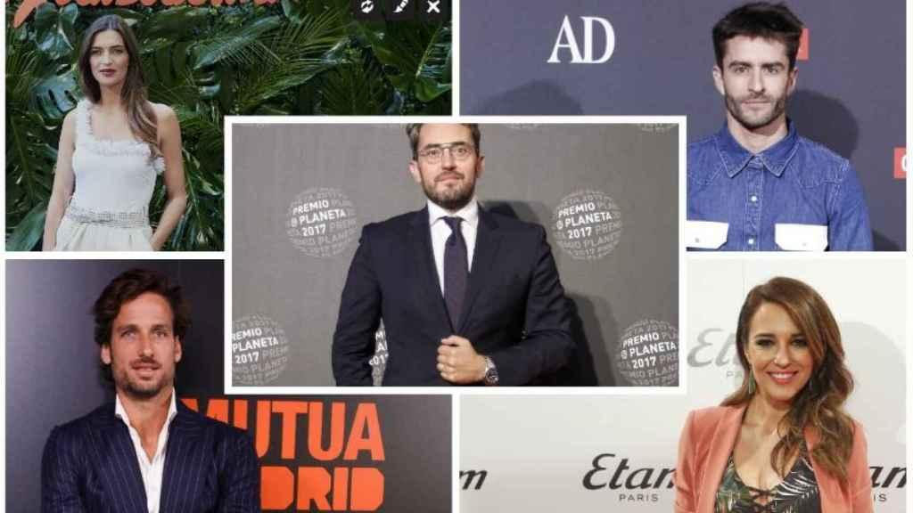 Sara Carbonero, Pelayo, Feliciano López y Paula Echavarría le han mostrado su apoyo.