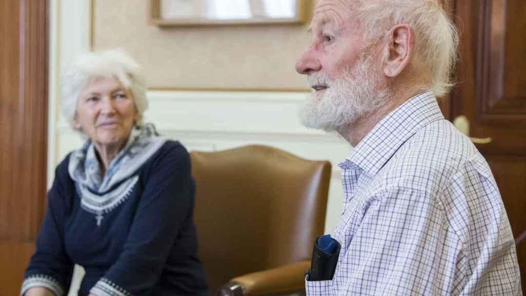 Peter y Rosemary Grant.