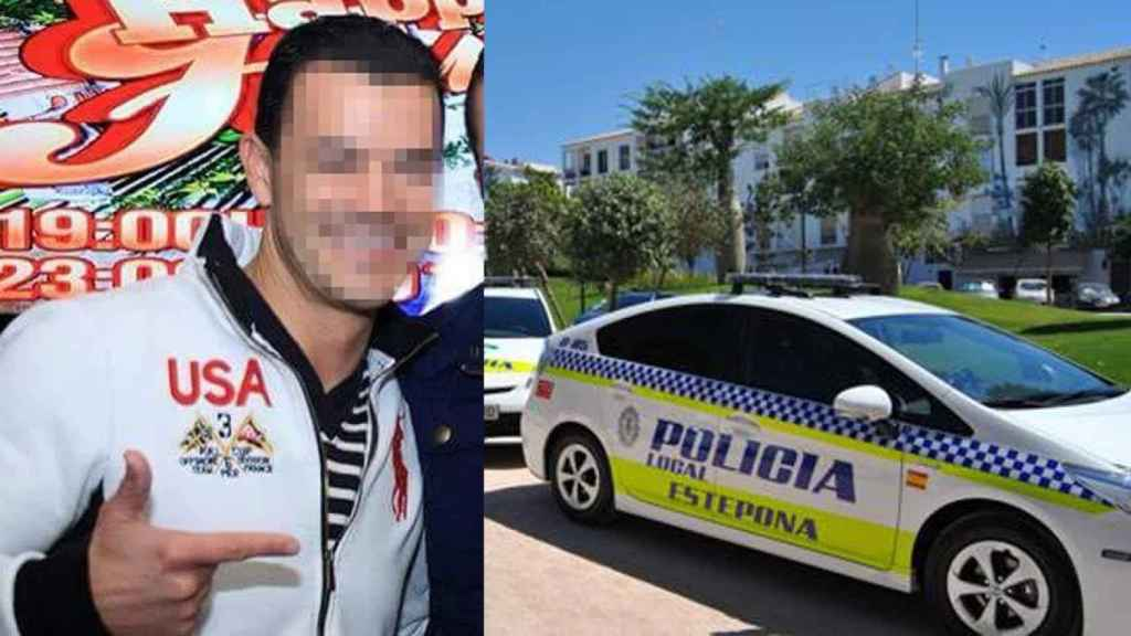 Uno de los dos agentes de la Policía Local de Estepona (Málaga) acusados de haber violado a una joven de 18 años.