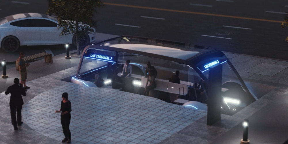 boring company transporte 1