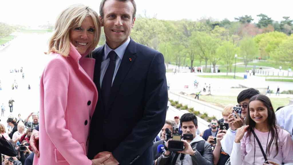 Brigitte y Emmanuel Macron. Gtres.