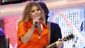 Amaia Montero durante el concierto. Gtres.
