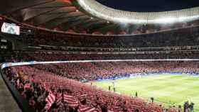 El Wanda Metropolitano abre sus puertas. Foto Twitter (@Atleti)