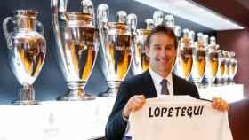 Julen Lopetegui, con la camiseta del Real Madrid