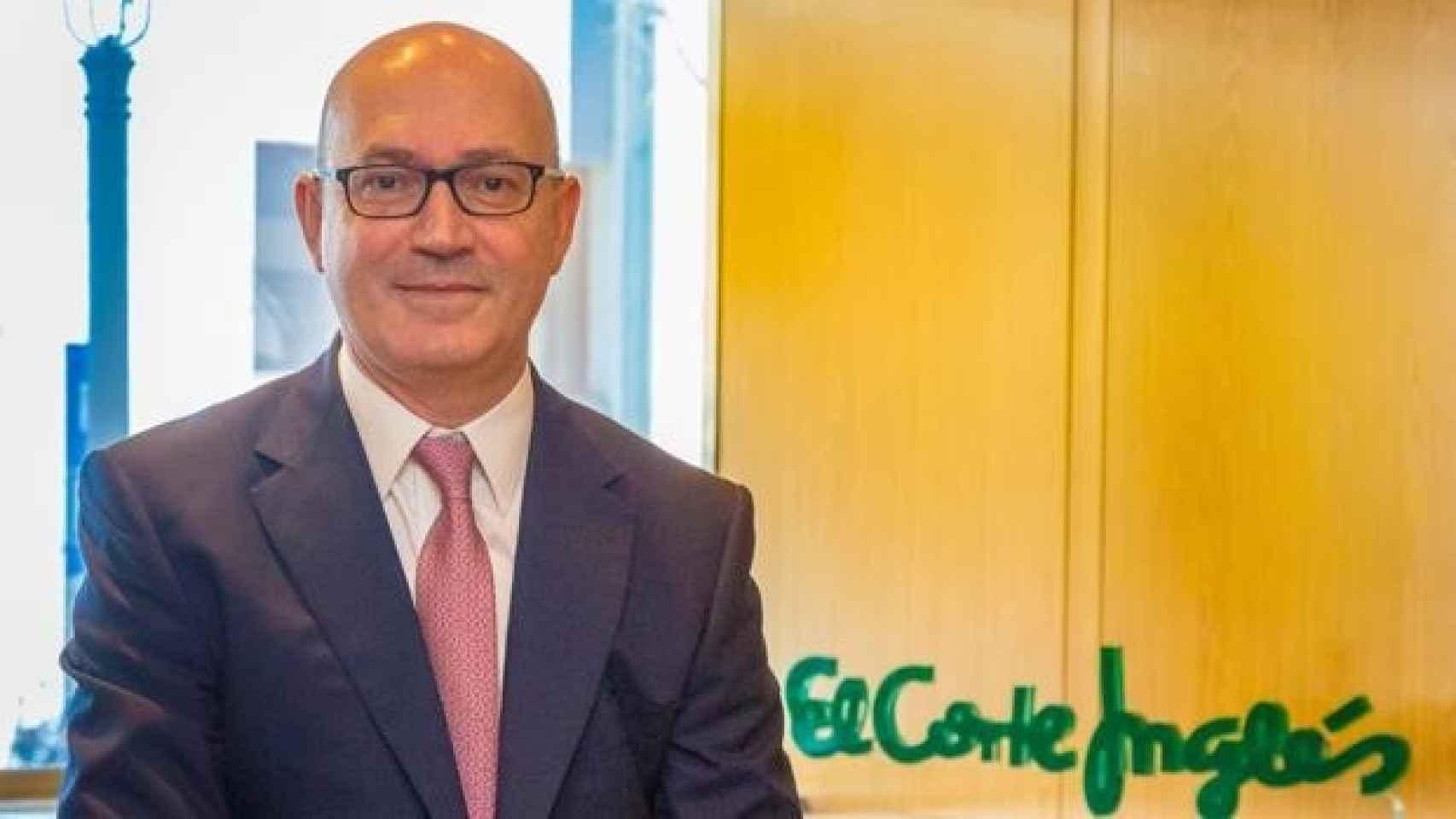 Jesús Nuño de la Rosa,  presidente ejecutivo de El Corte Inglés.