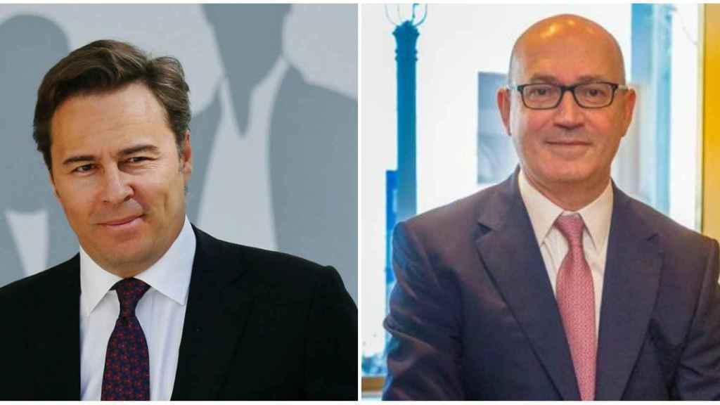 Dimas Gimeno, expresidente de El Corte Inglés y Jesús Nuño de la Rosa, nuevo presidente.