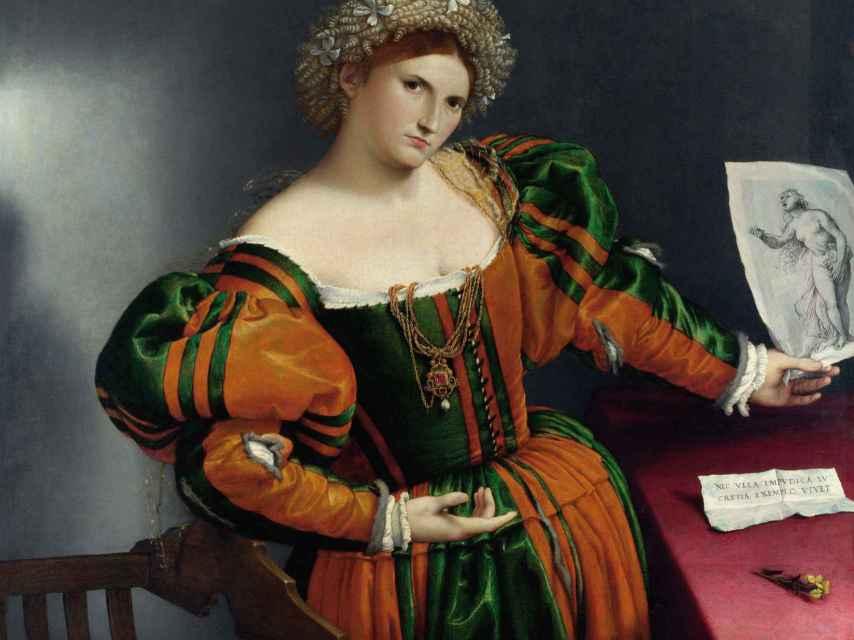 Retrato de Lucrecia, de 1530-33.