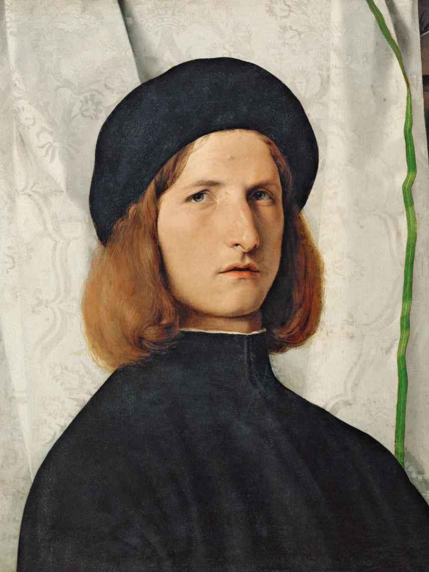 Retrato de hombre con lámpara, de 1508.