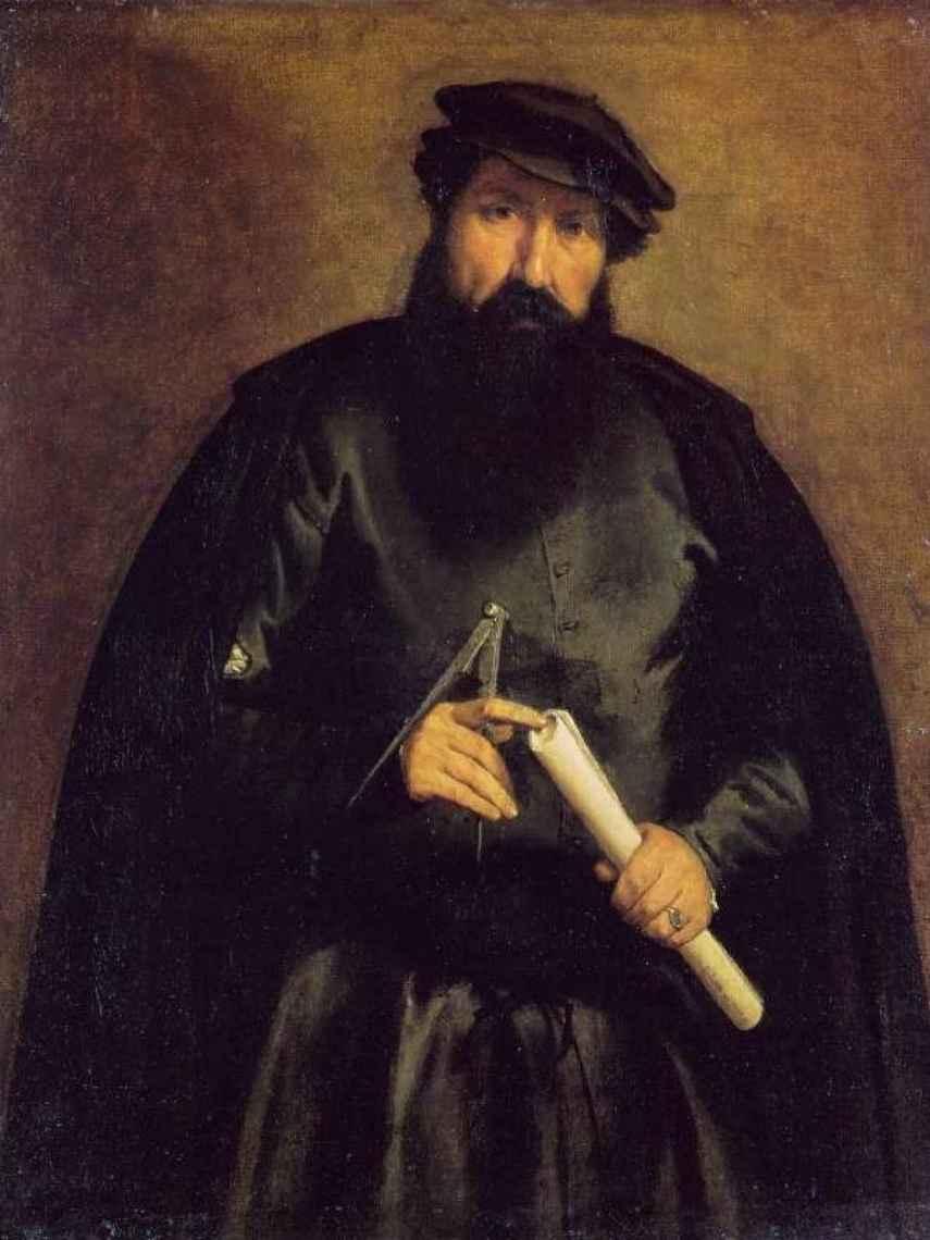 Retrato del arquitecto Giovanni del Coro, de 1540-42.