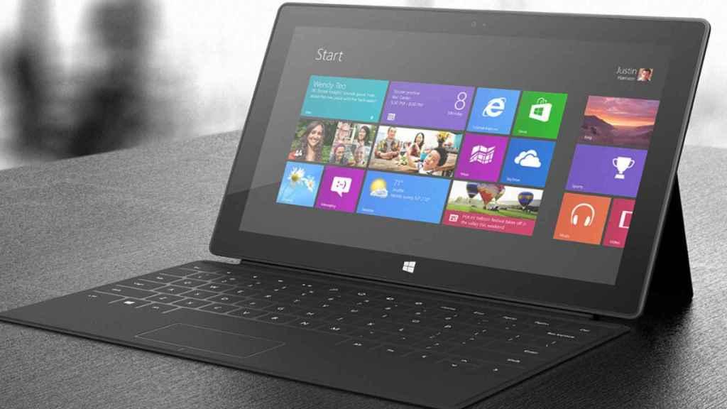 windows 10 microsoft surface tablet pc ordenador