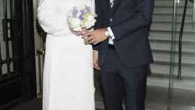 Carlota Corredera y Carlos de la Maza el día de su boda.