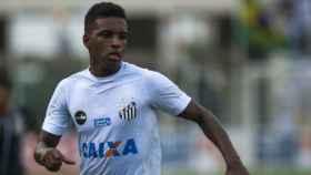 Rodrygo, jugador del Santos. Foto santos.com.br