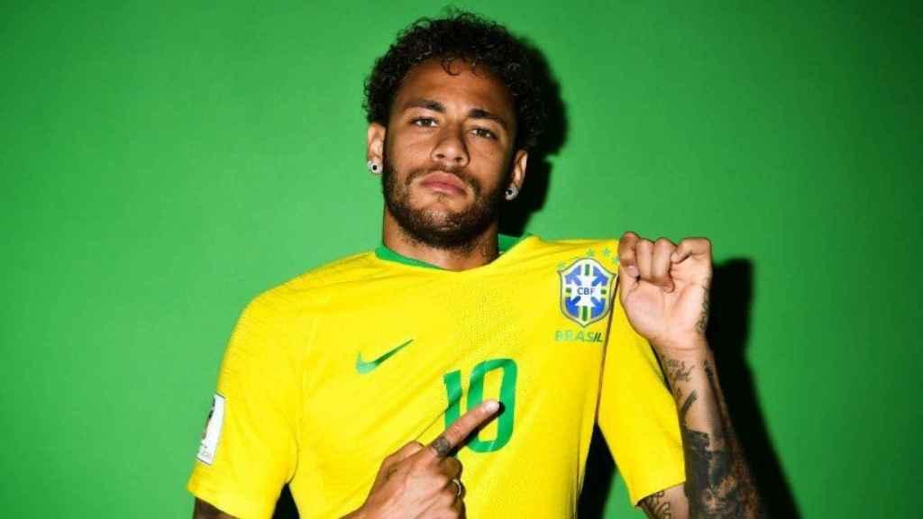 Neymar, con Brasil. Foto fifa.com