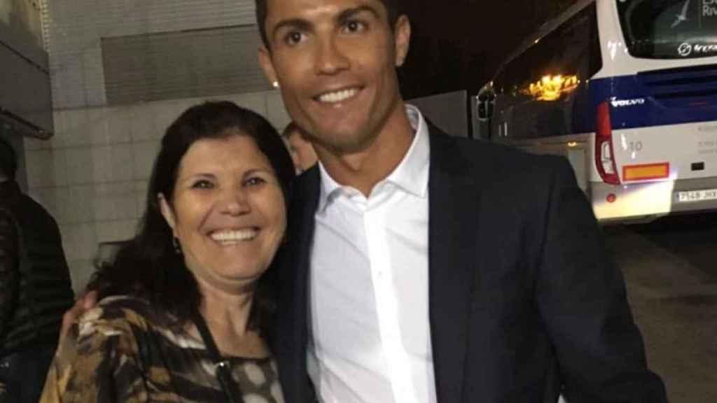 Dolores Aveiro y Cristiano Ronaldo