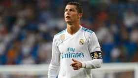 Cristiano Ronaldo durante el Trofeo Santiago Bernabéu. Foto: Pedro Rodríguez / El Bernabéu