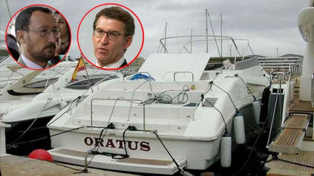 El Oratus era uno de los barcos en los que Dorado y Feijóo fueron juntos de vacaciones.