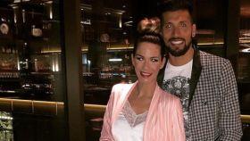 Tamara Gorro y Ezequiel en una imagen de sus redes sociales.