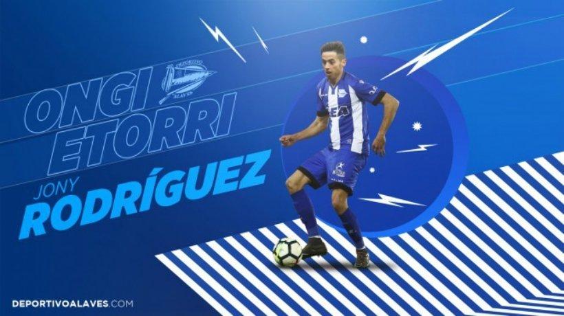 Jony, nuevo jugador del Alavés