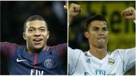 Mbappé vs. Cristiano Ronaldo