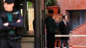 Antoni Molons, durante la investigación por el  desvío de fondos para el 1-O.