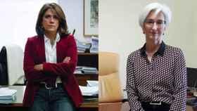 La ministra de Justicia y la candidata a la Fiscalía General del Estado.