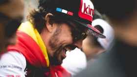 Fernando Alonso fue fundamental en la remontada en Le Mans.