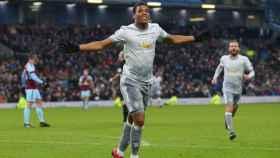 Martial celebra un gol con el United. Foto: Twitter (@anthonymartial).