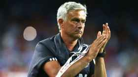Mourinho, durante la pretemporada. Foto manutd.com