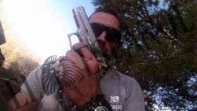 Imagen extraída de la cámara GoPro que llevaba Igor el Ruso en el momento de su detención.