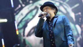 Joaquín Sabina durante el concierto que ofreció el pasado sábado en Madrid.