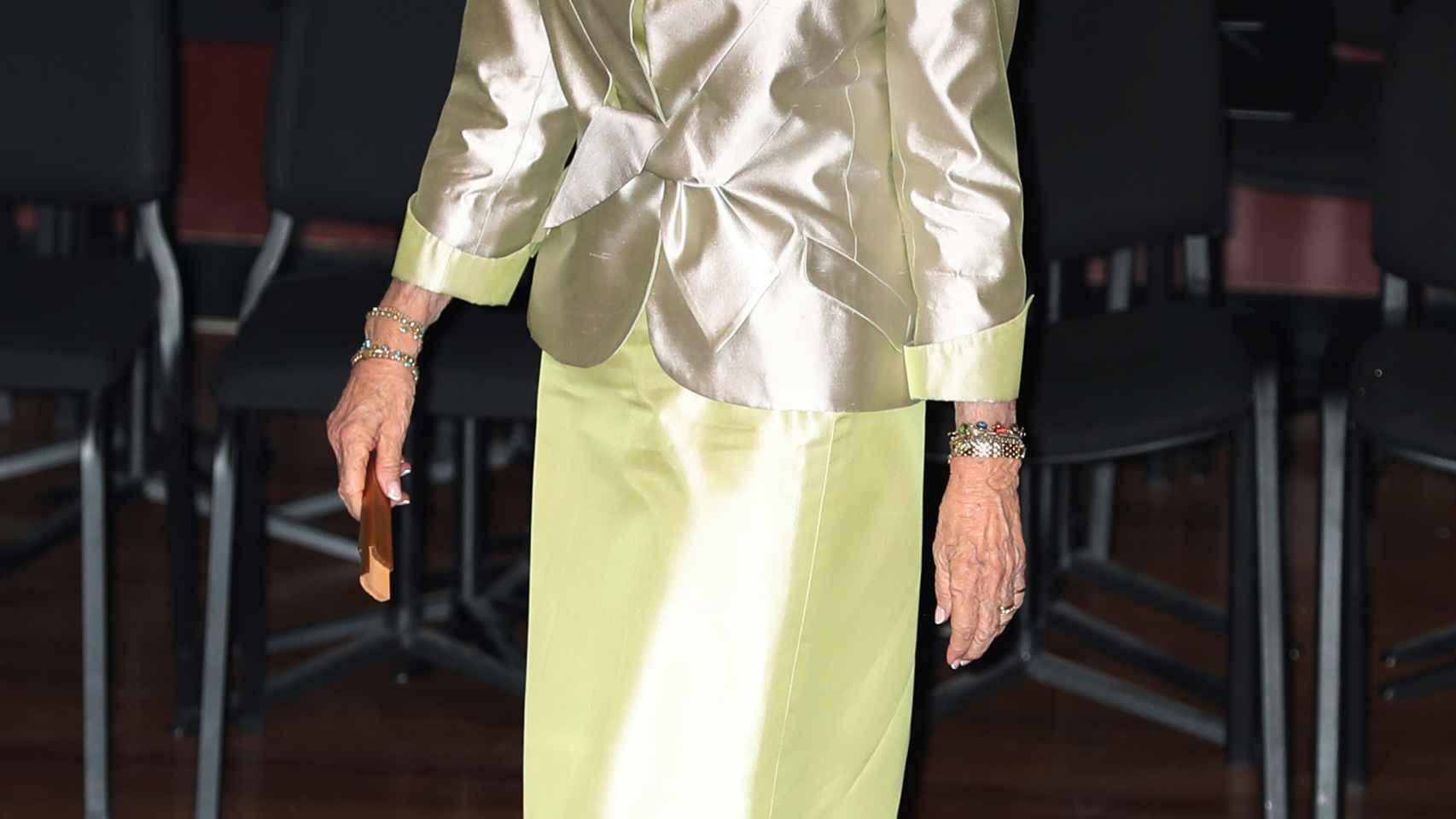 La reina Sofía en imagen de archivo.