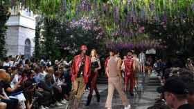 Desfile de Versace en Milán.