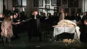 Imagen de la producción de Lucia de Lammermoor.